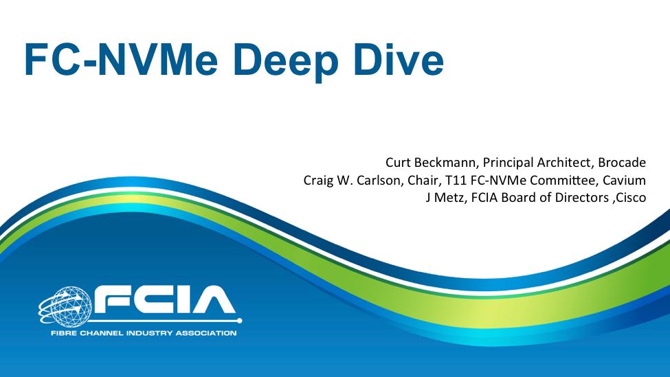 Dive Deep into NVMe over Fibre Channel (FC-NVMe)